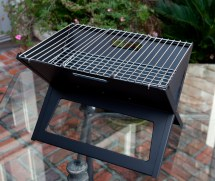 Notebook Charcoal Grill Traveled Living