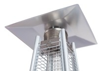 Stainless Steel Pyramid Flame Heater Traveled Living