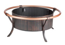 Copper Rail Fire Pit Traveled Living