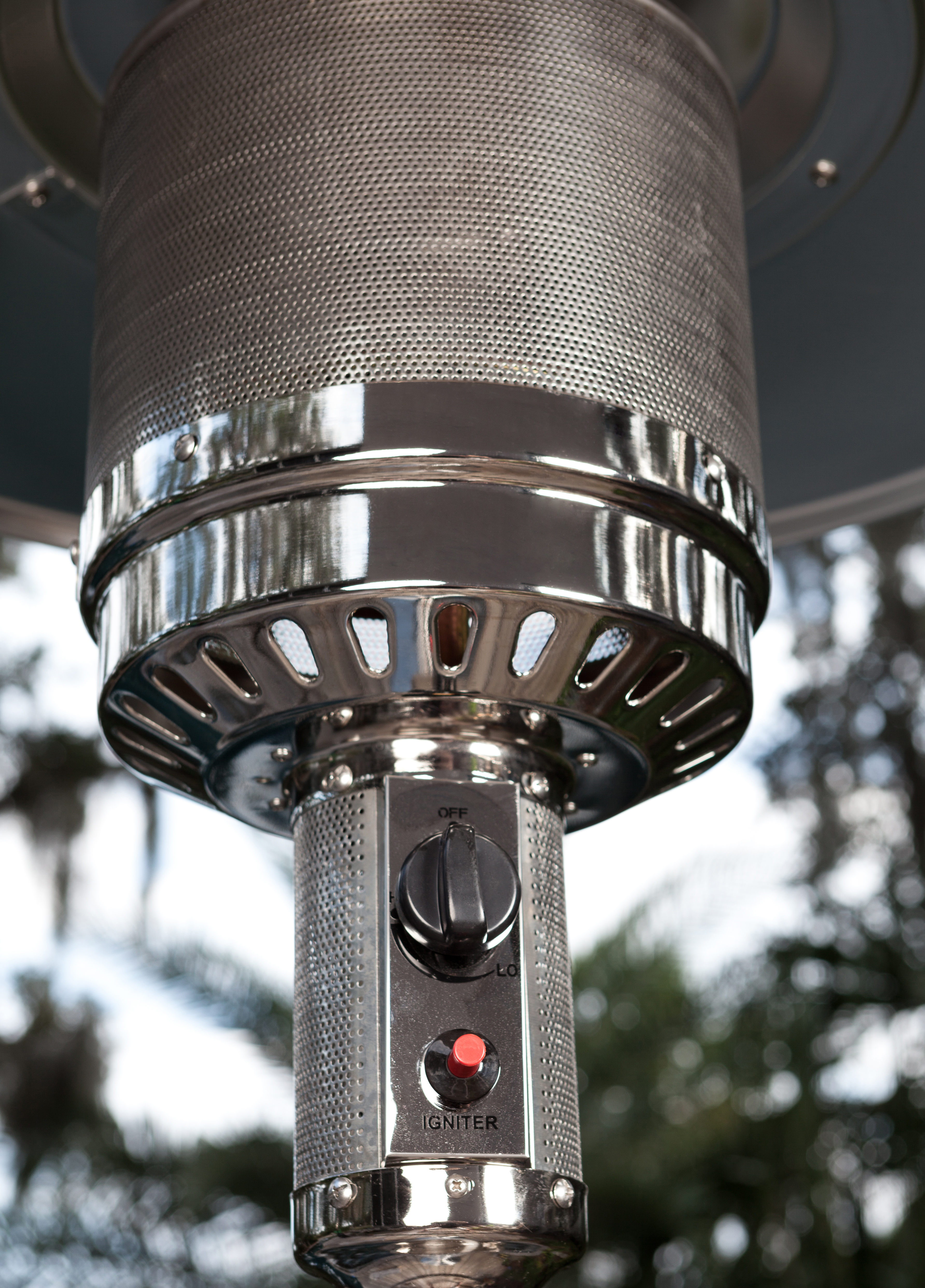 stainless steel patio heater samsclub com exclusive well traveled living