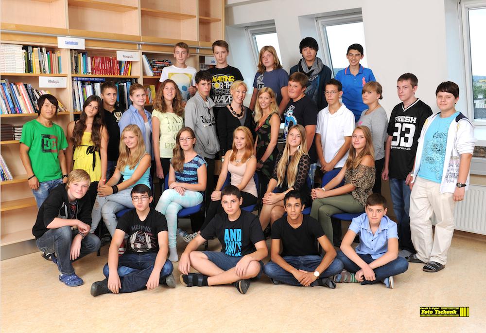 Klassenfoto der 4C