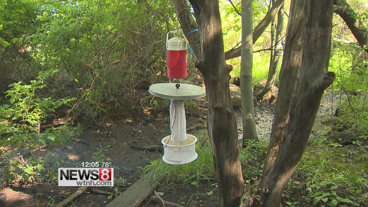 Dozens of traps track rapid spread of West Nile