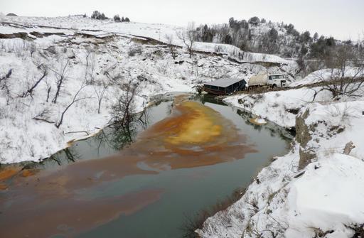 Oil Pipeline North Dakota Spill_368471