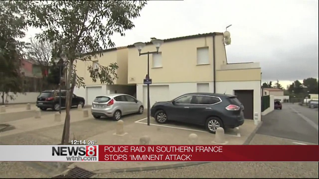 France Thwarts 'Imminent Attack;' 4 Arrests, Explosive Found