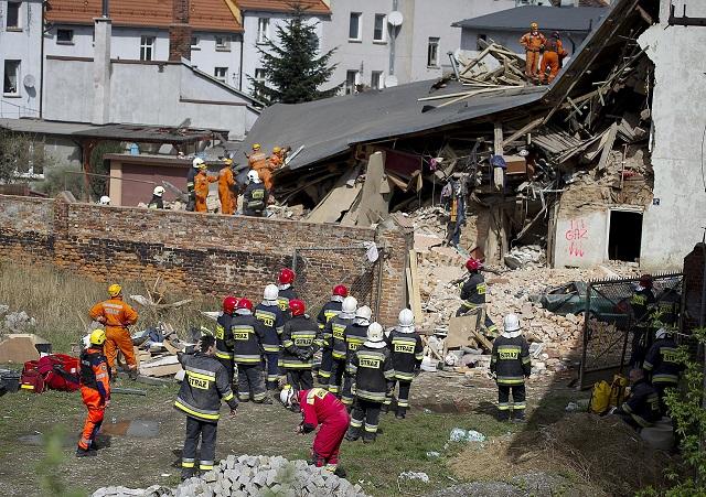 Poland House Collapse_430581
