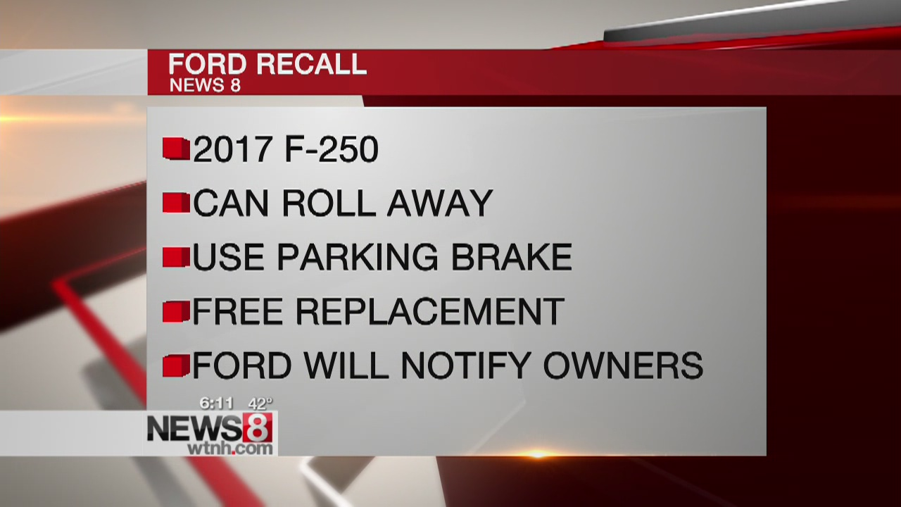 Ford recalls 53K trucks that can roll away when parked