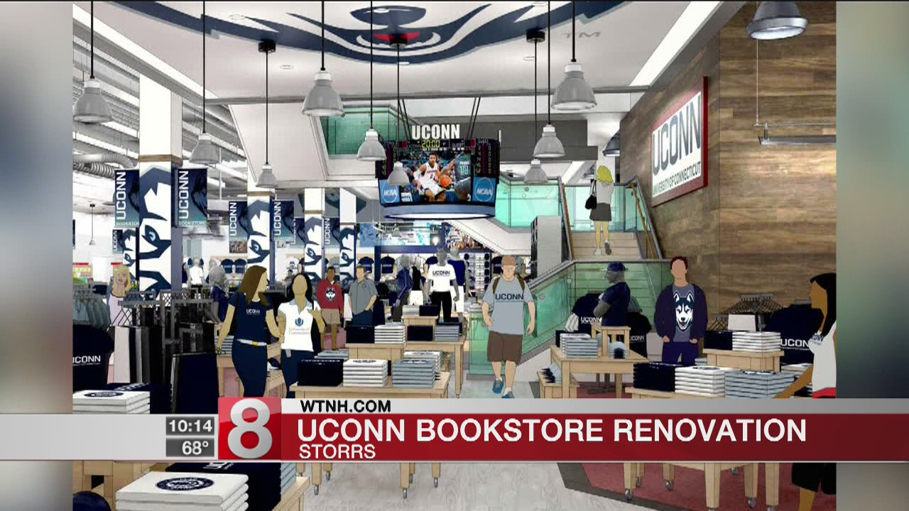UConn to renovate bookstore at Storrs campus