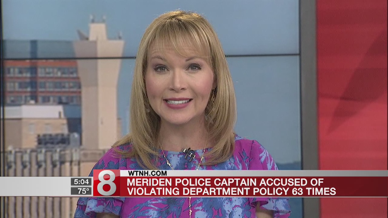 CT police captain accused of 63 department policy violations