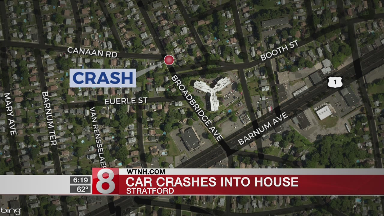 Ansonia man arrested for DUI after driving car into house