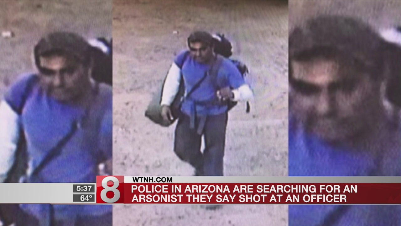 Search for suspect in Arizona fires spooks vacationers