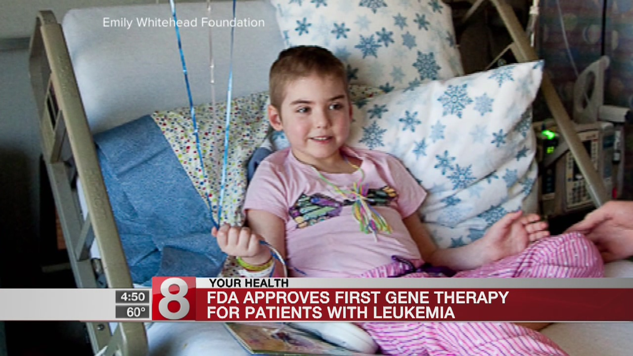 US clears breakthrough gene therapy for childhood leukemia