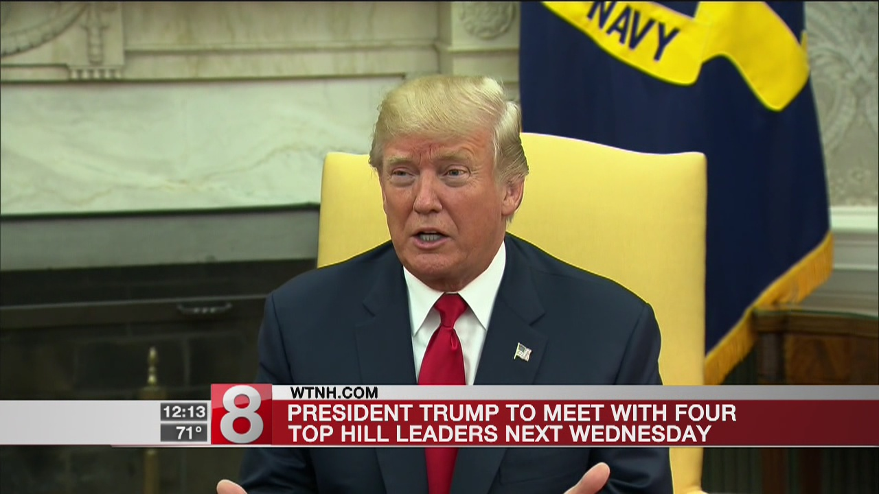 Sources say Trump, Hill leaders to meet next Wednesday