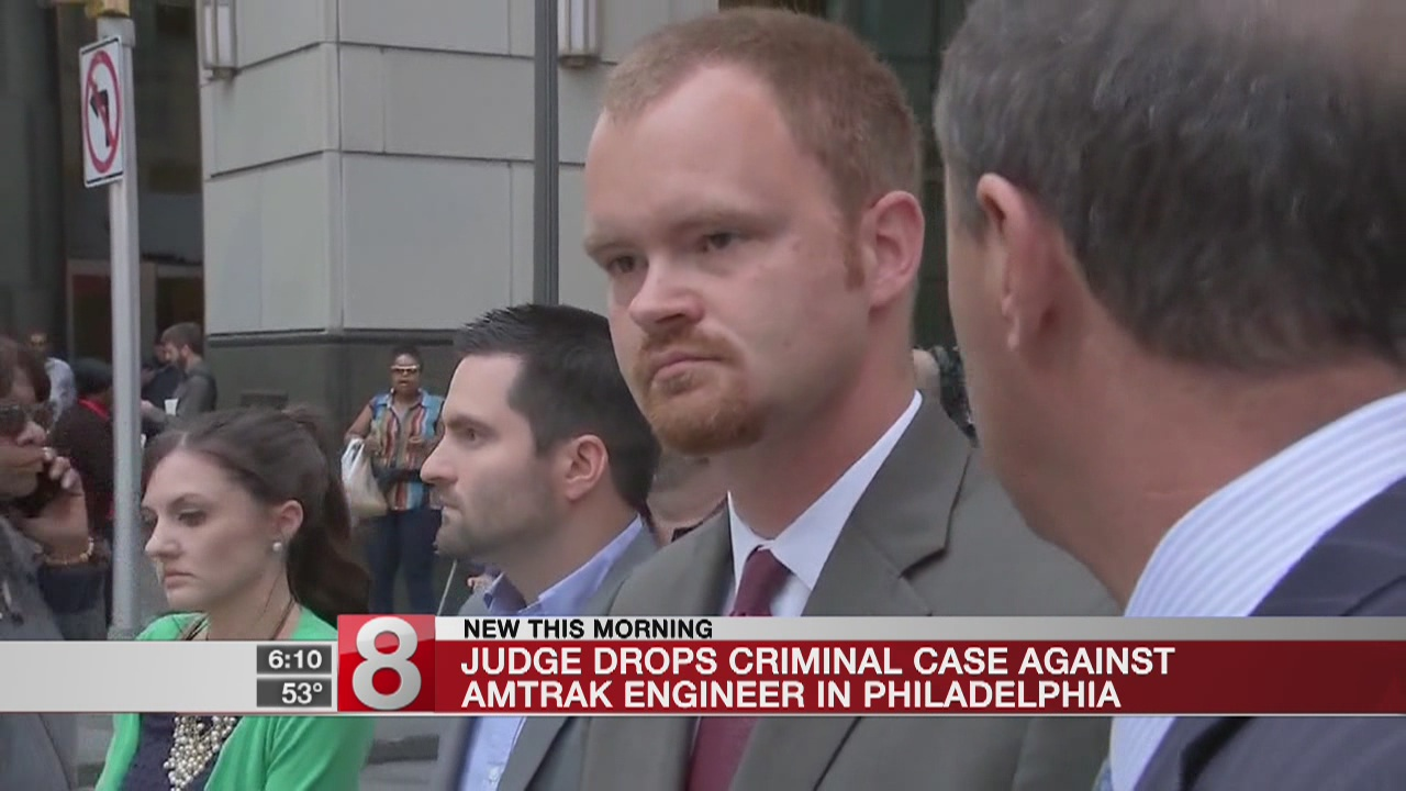Judge: Amtrak engineer's deadly crash an accident, not crime