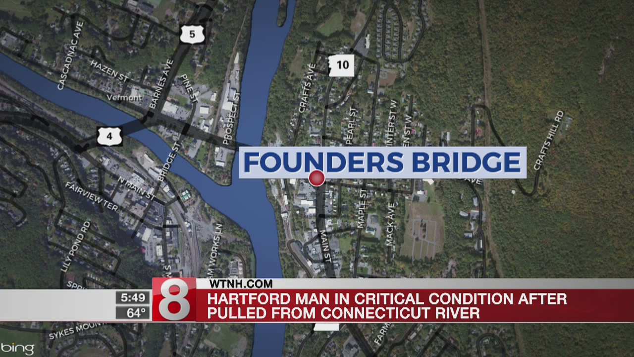 Hartford PD: passerby recovers unresponsive person from Connecticut River
