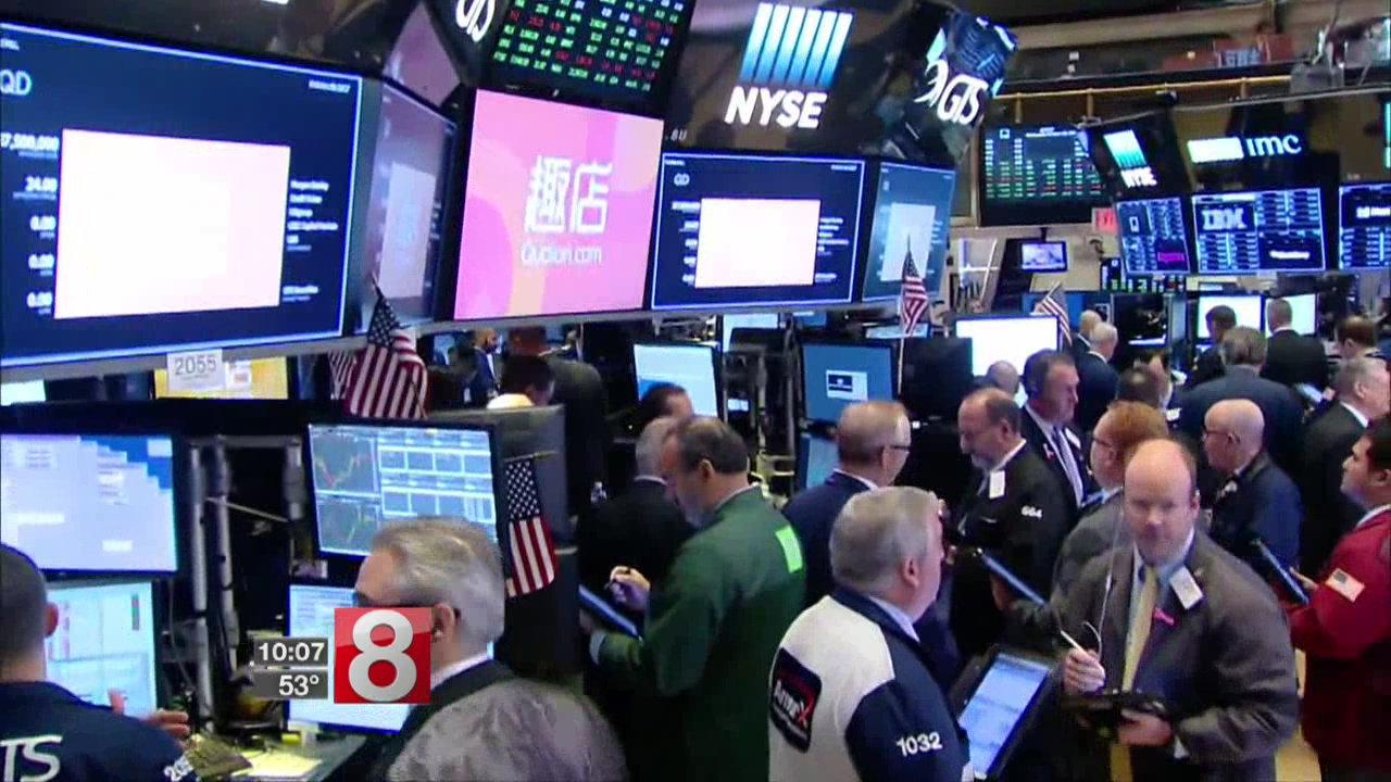 Record highs for major US stock indexes; Dow passes 23,000