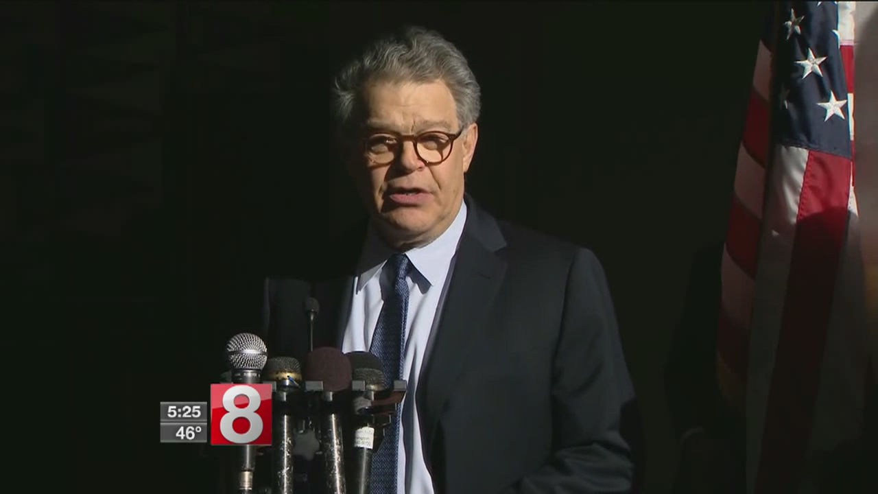 I'm going to have to be more careful,' Sen. Al Franken said of sexual misconduct allegations