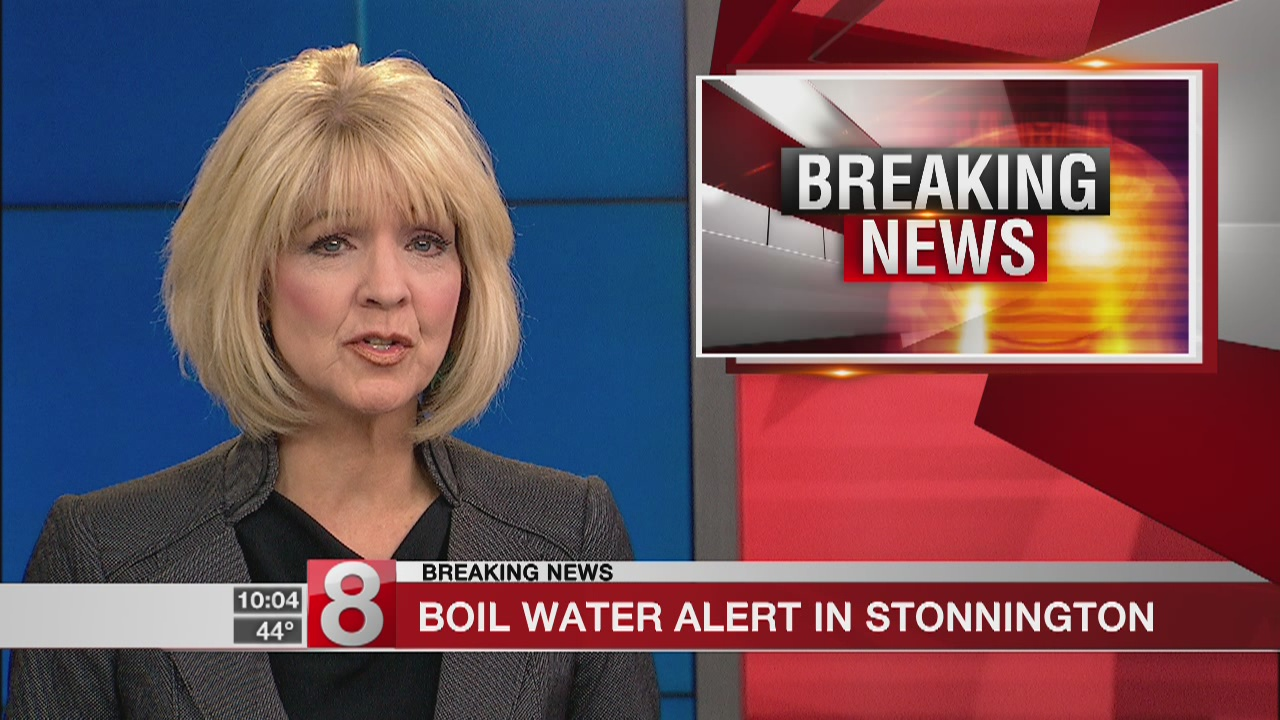 Residents in Stonington told to boil water before using it