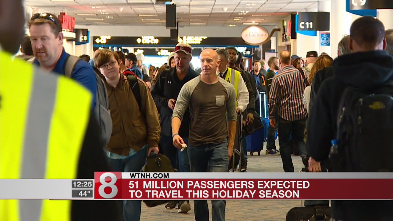 Airline group says holiday travel will be higher than 2016