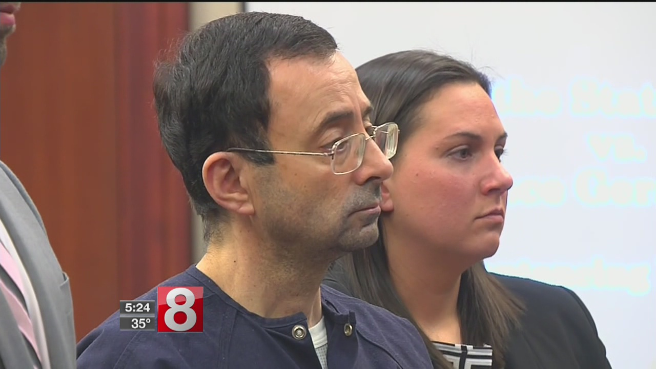 Disgraced Olympic doctor Larry Nassar sentenced to 40 to 175 years in prison