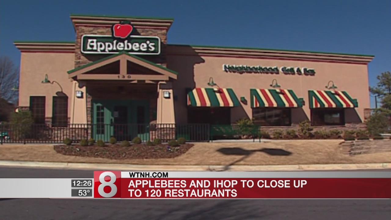Applebee's, IHOP to close up to 120 restaurants
