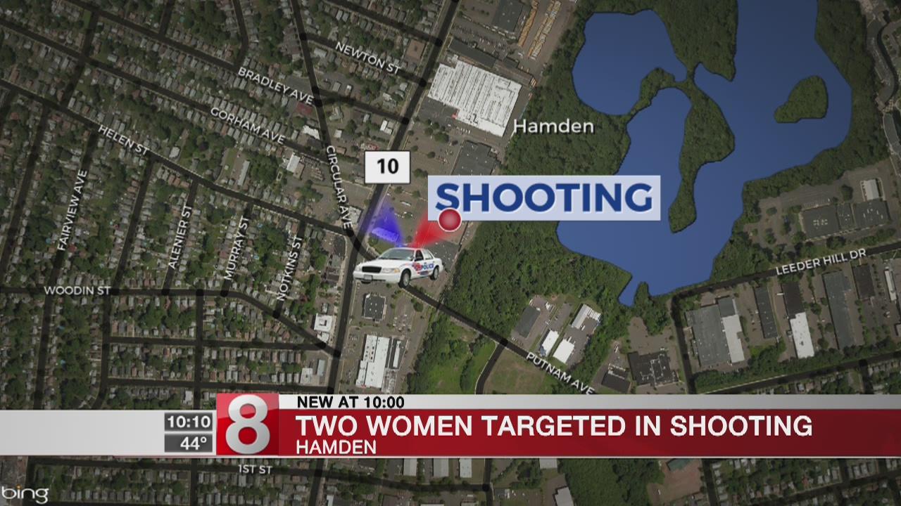 Investigation underway after women allegedly shot at in Hamden