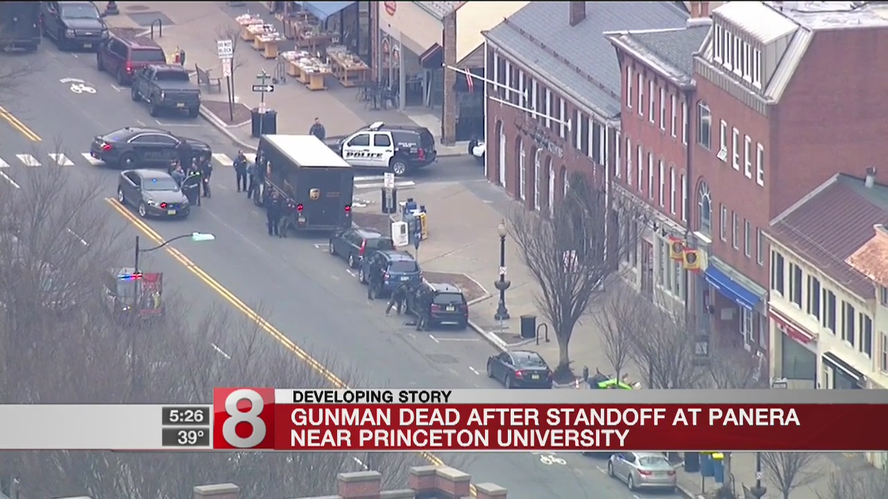 Gunman dead after standoff inside Panera near Princeton University: Official