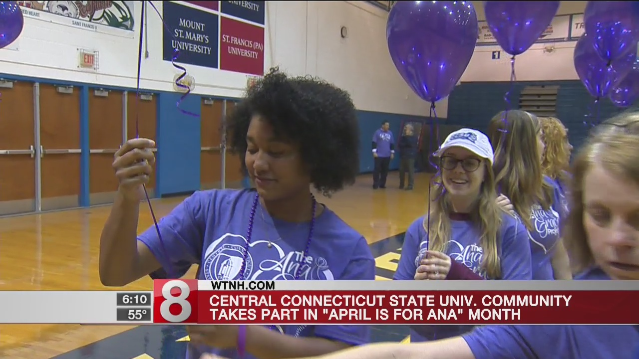 """CCSU community takes part in """"April for Ana"""" Month"""