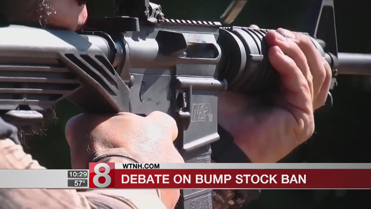 Debate on bump stock ban