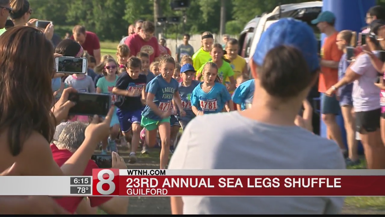 "Annual ""Sea Legs Shuffle"" takes place in Guilford"