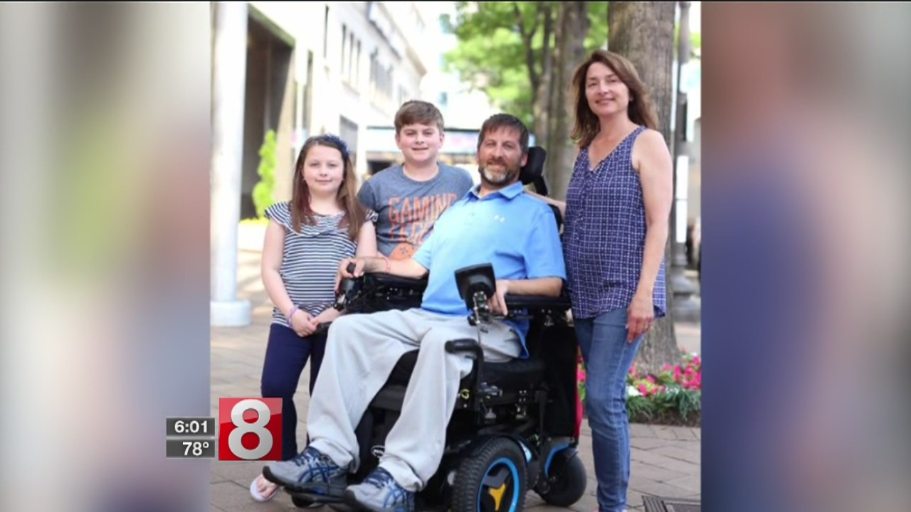 East Haven father with ALS fighting to have children attend school together
