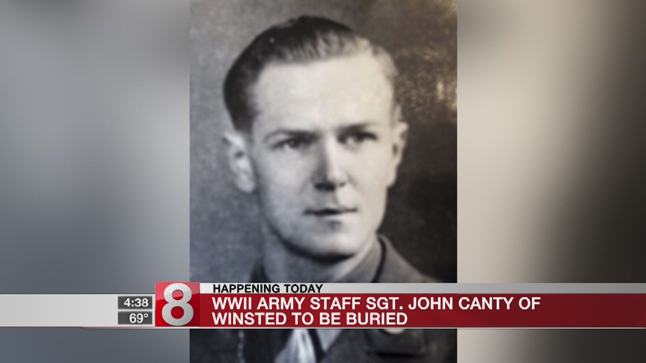 WWII Army Staff Sgt. John Canty of Winsted to be buried