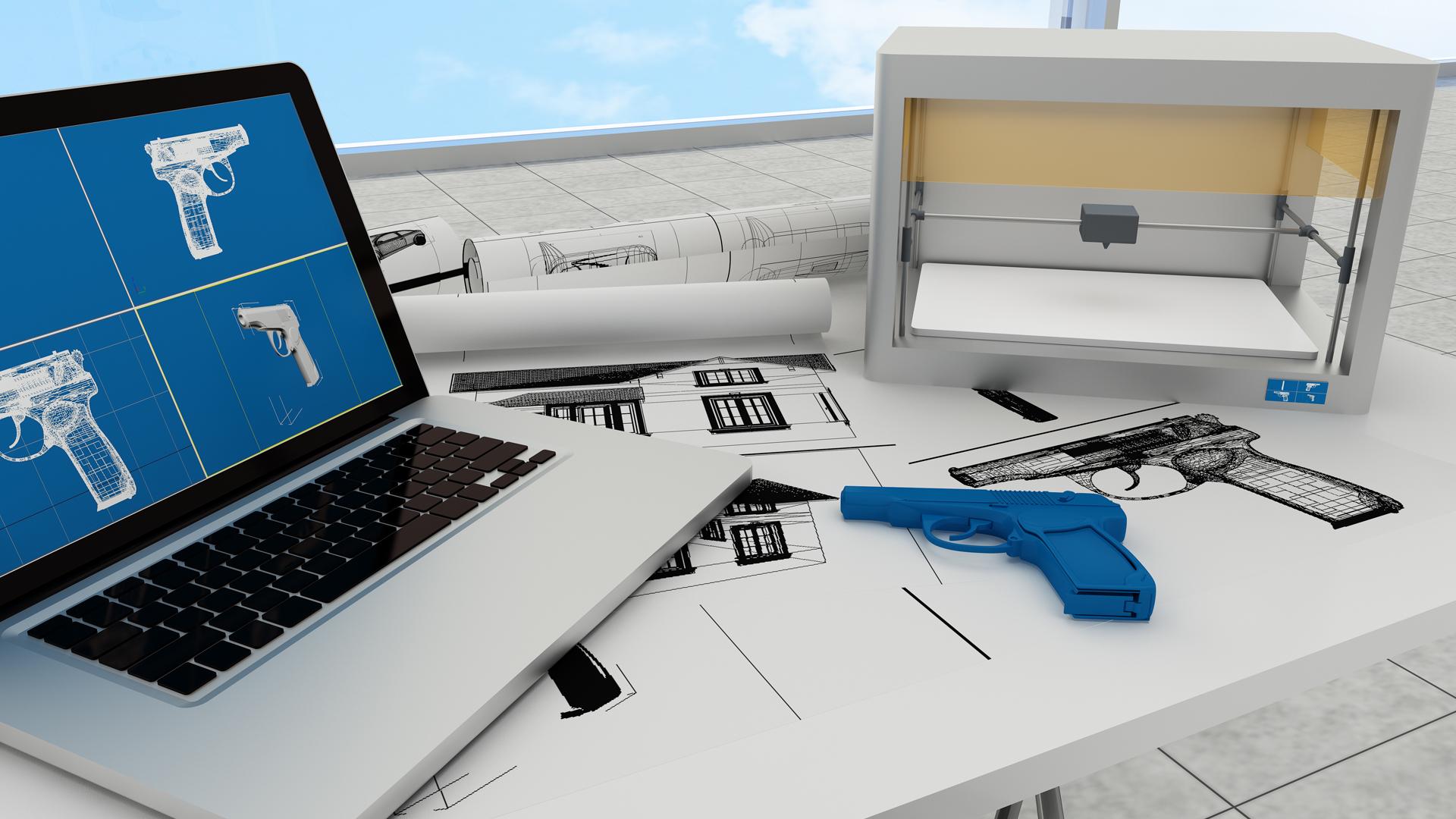 3d printing technology, printing gun_1533127096357