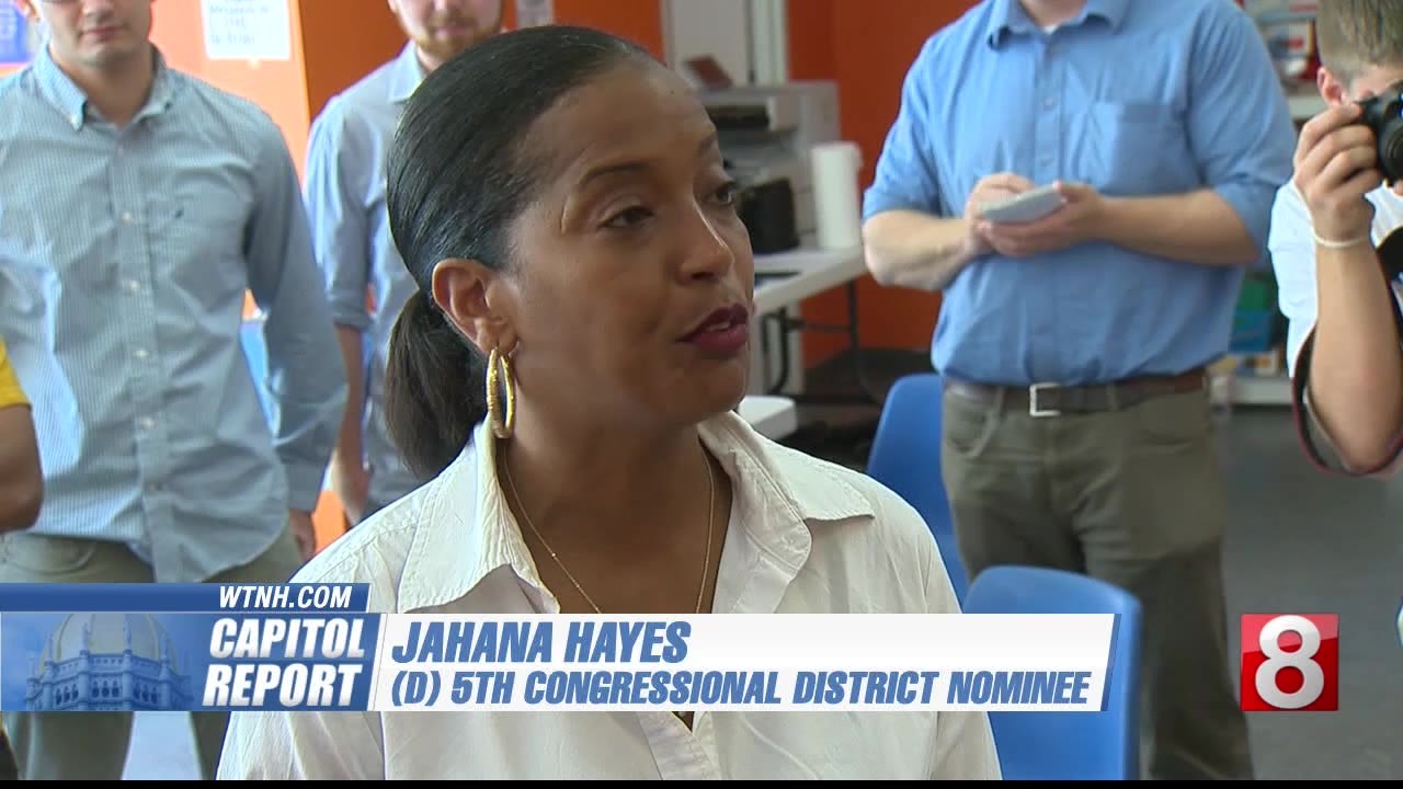 Capitol Report: Jahana Hayes surprise winner for Democrats in 5th District Primary