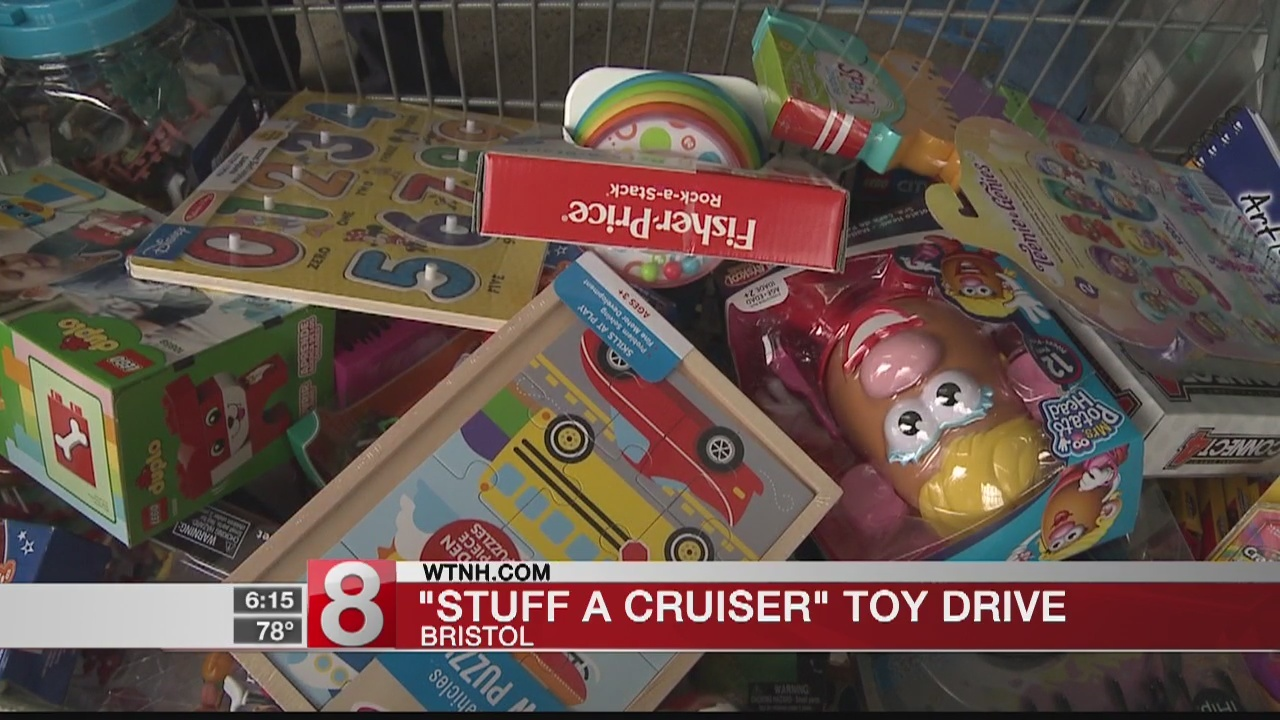 'Stuff a cruiser' event in Bristol collects toys for kids at CCMC