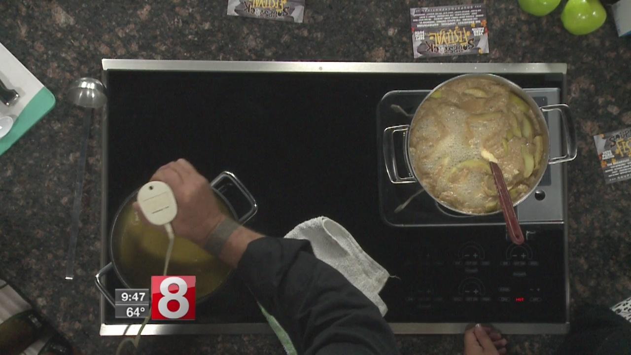 8 Minute Meals: apple butternut squash soup