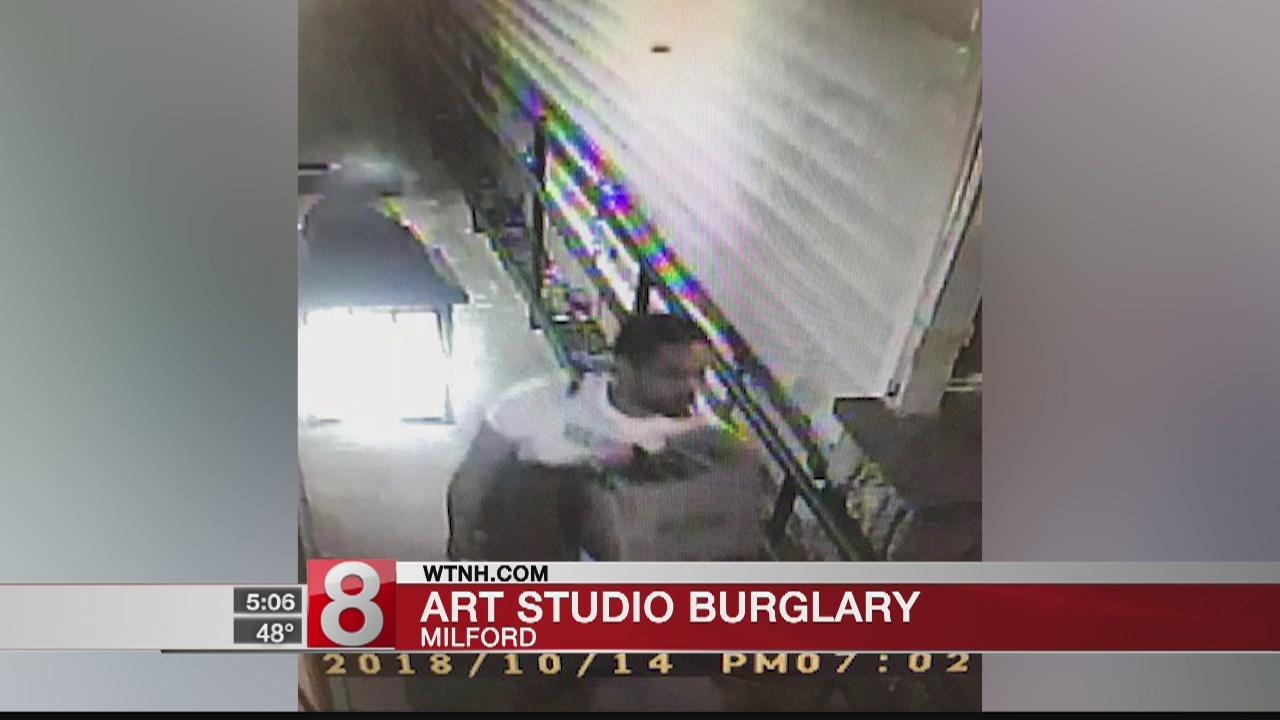 Police in Milford investigate art studio burglary
