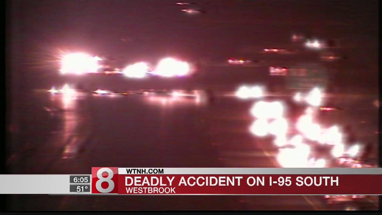 Clinton woman dies in I-95 crash in Westbrook