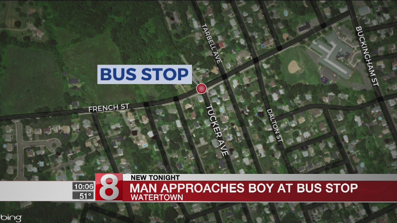 Young Boy Approached by Vehicle in Watertown