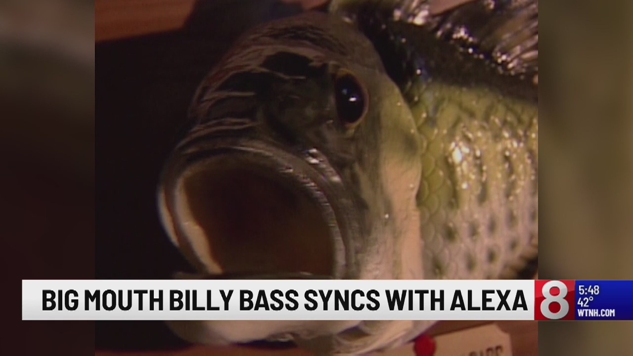 Amazon now selling Big Mouth Billy Bass fish that can connect to Alexa