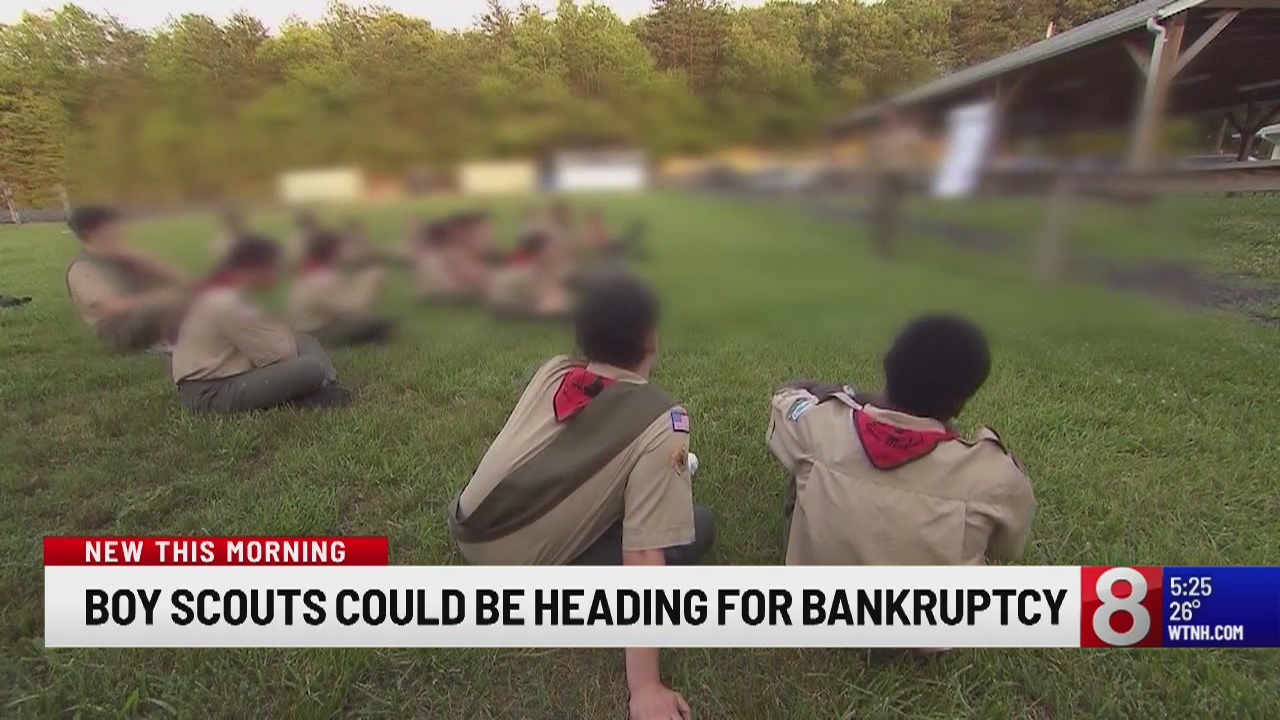 WSJ: Boy Scouts may file for bankruptcy