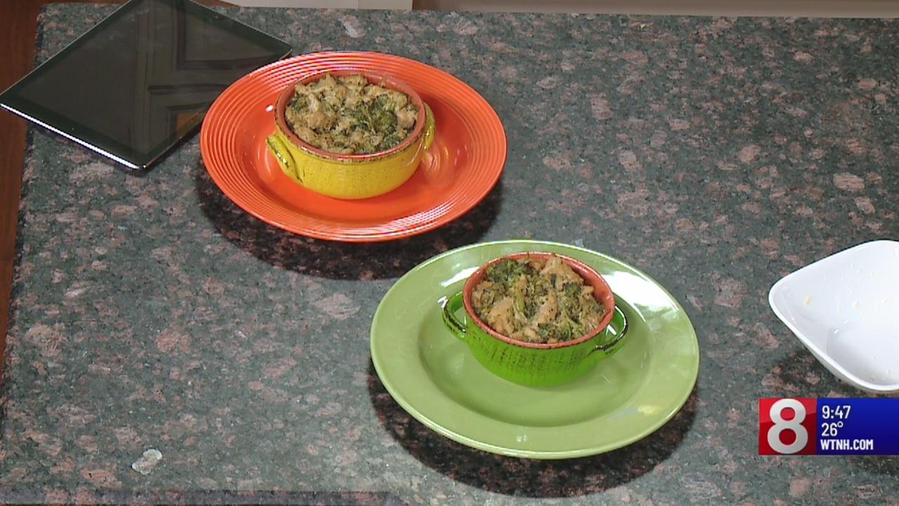8 Minute Meals: broccoli chicken & veggie casserole