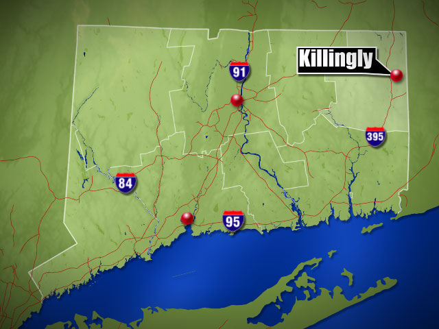 One person sent to hospital after struck by car in Killingly
