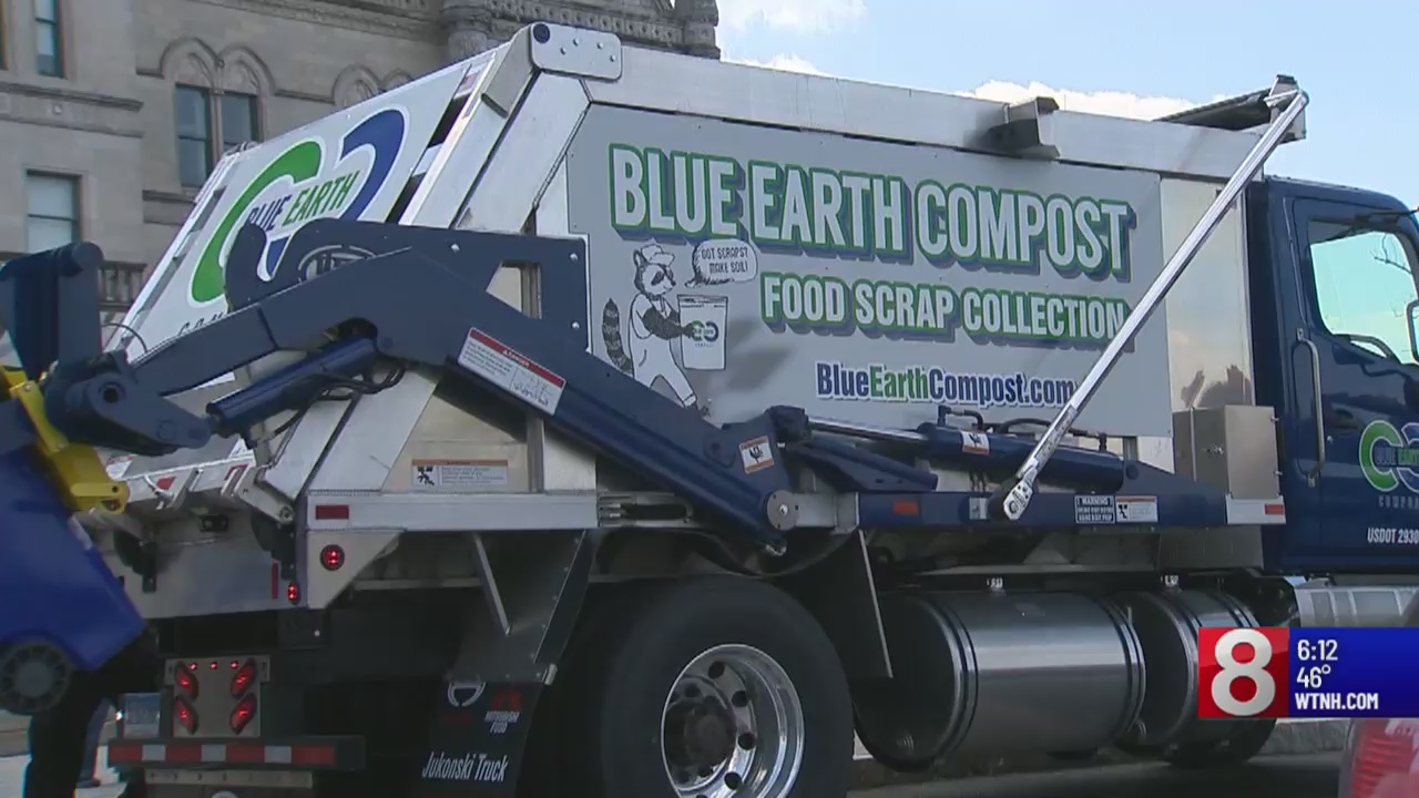 Compost pickup truck coming to Connecticut