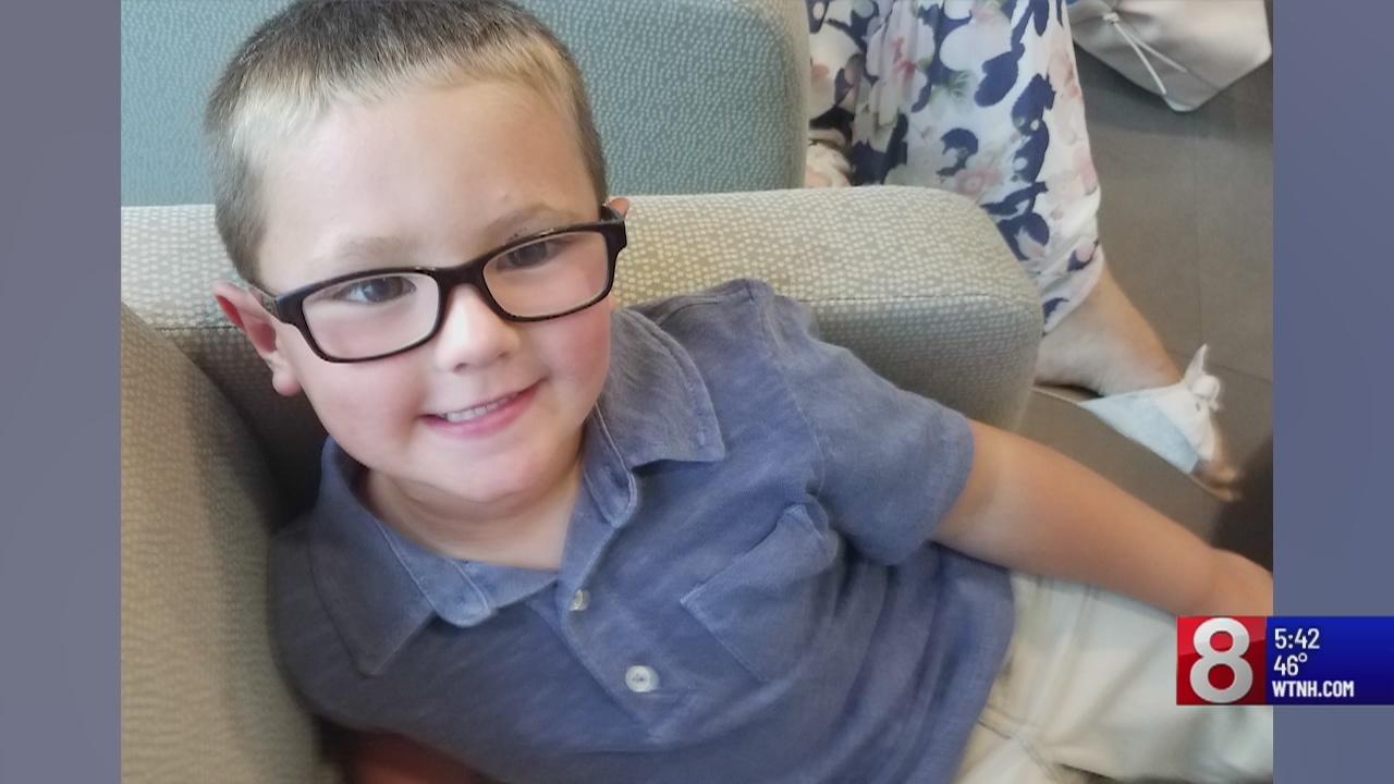 Modern medicine, blood donations help young Burlington boy live normal life