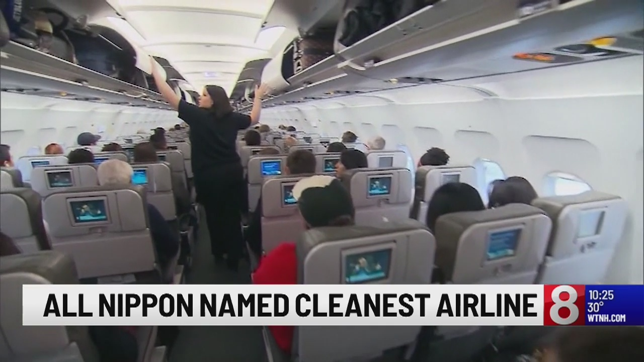 Survey releases list of cleanest airlines in the world
