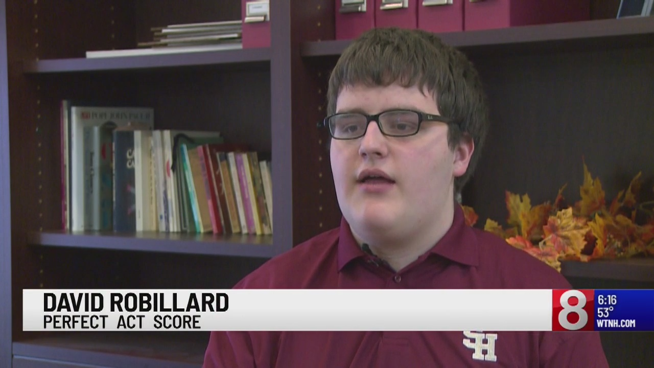 Waterbury student gets perfect ACT score
