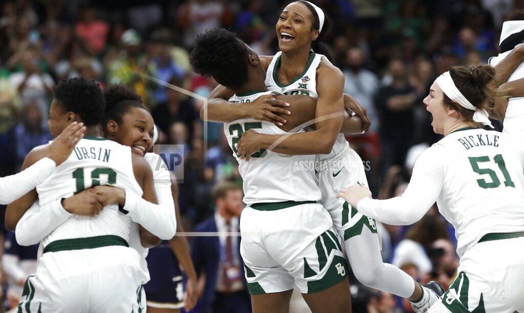 APTOPIX NCAA Championship Notre Dame Baylor Basketball_1554726222056