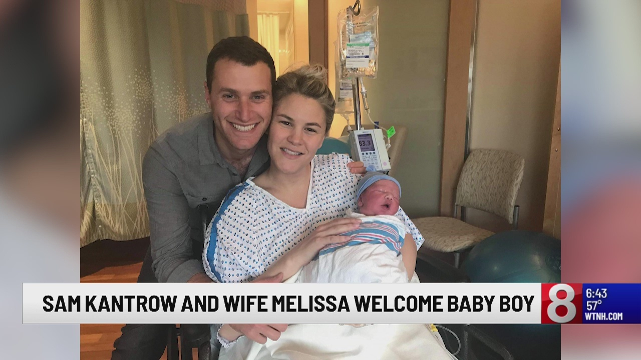 Meteorologist Sam Kantrow Welcomes Baby