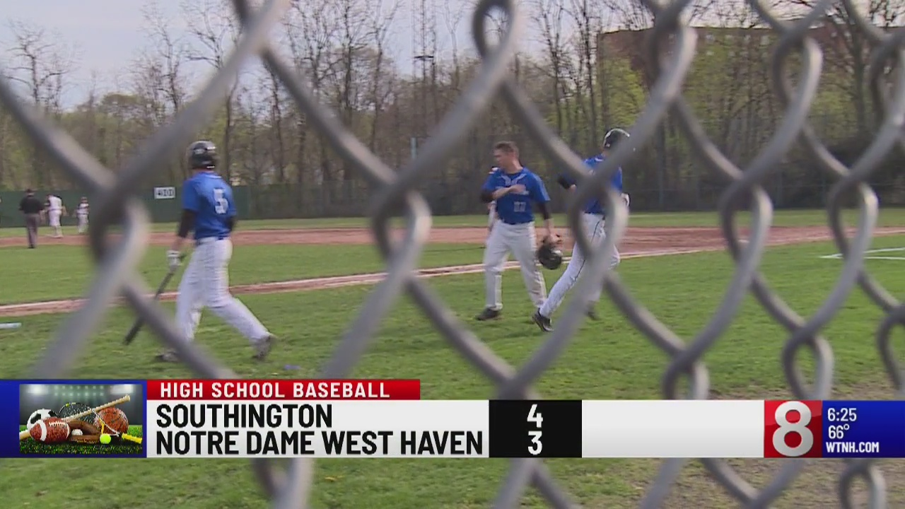 The Blue Knights defeat the Green, 4-3 in baseball