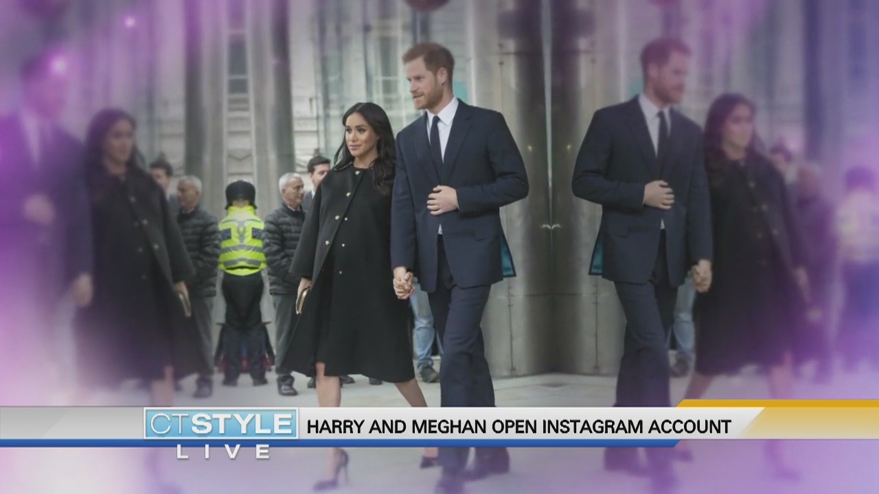 Today's Dish: Harry and Meghan open Instagram account